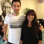 Met Sinan Eroglu, acteur