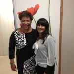 Met Noraly Beyer, presentatrice