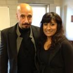 Met Sabri Saad El Hamus, acteur
