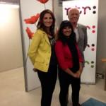 Met Naeeda Aurangzeb en Aad van den Heuvel
